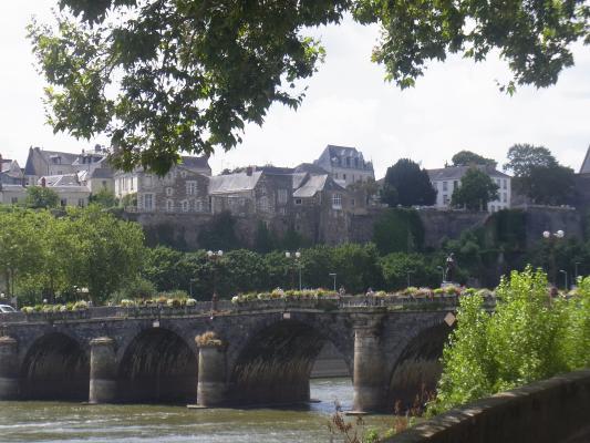 Angers, Brücke, Frankreich