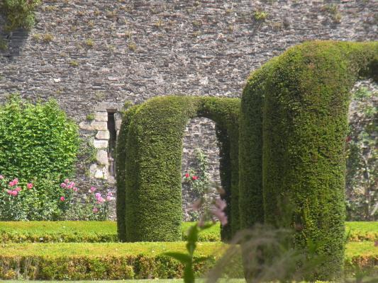 Angers, Frankreich, Schloss