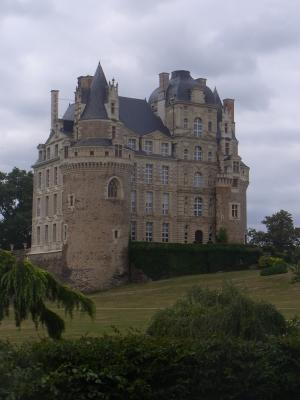 Brissac, Frankreich, Schloss