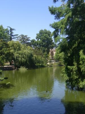 Bordeaux, Frankreich, Park