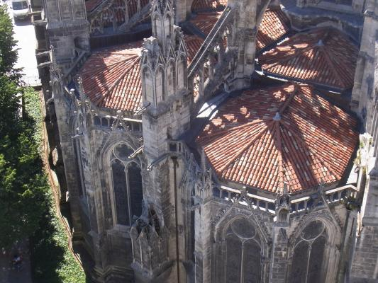 Ausblick, Bordeaux, Frankreich, Kathedrale