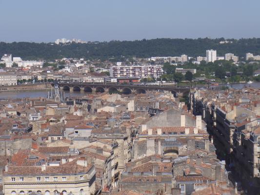 Ausblick, Bordeaux, Frankreich