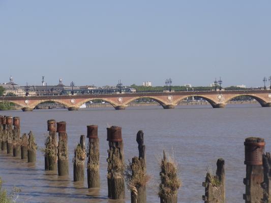 Bordeaux, Brücke, Frankreich
