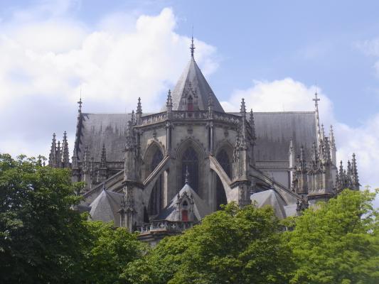 Frankreich, Kathedrale, Nantes