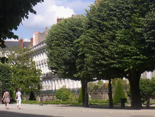 Frankreich, Nantes, Park