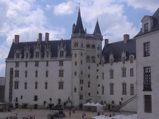 Frankreich, Nantes, Schloss