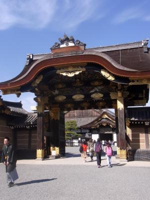 Japan, Kyoto, Nijo, Schloss