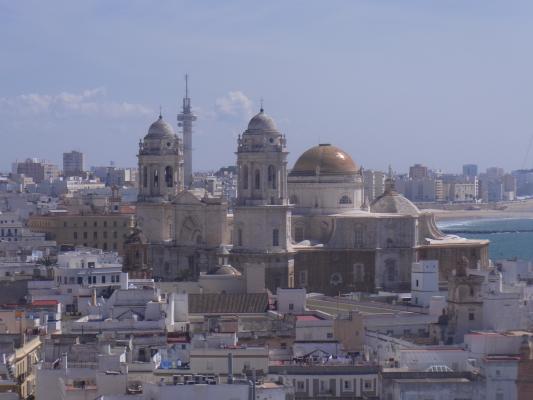 Andalusien, Ausblick, Cadiz, Kathedrale, Spanien