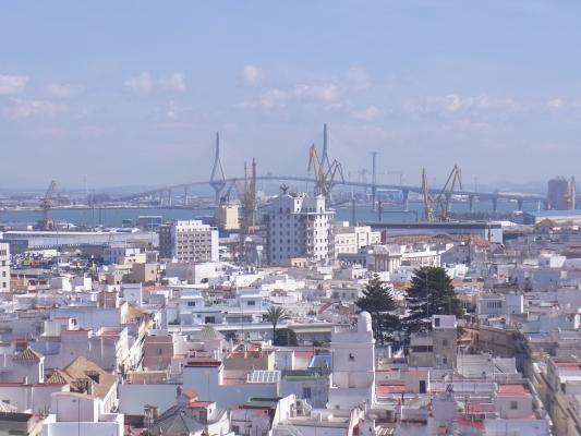 Andalusien, Ausblick, Cadiz, Spanien