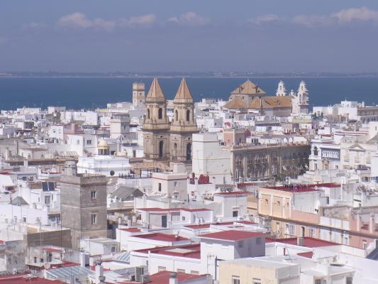 Andalusien, Ausblick, Cadiz, Kirche, Spanien