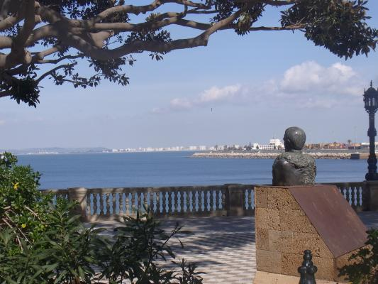 Andalusien, Cadiz, Park, Spanien