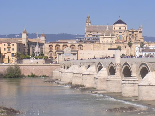 Andalusien, Brücke, Cordoba, Spanien