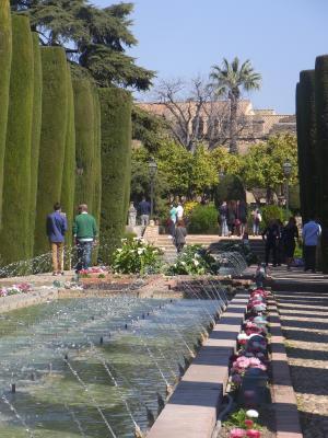 Andalusien, Burg, Cordoba, Park, Spanien