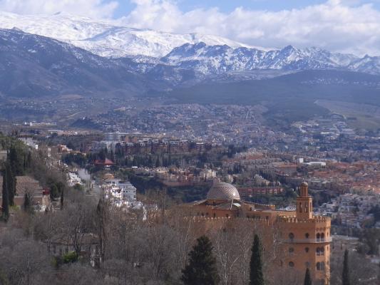 Andalusien, Ausblick, Granada, Spanien