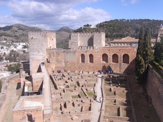 Alhambra, Andalusien, Granada, Spanien