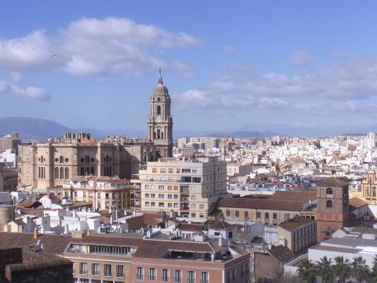 Andalusien, Ausblick, Malaga, Spanien