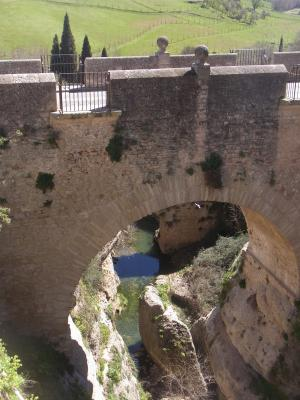 Andalusien, Brücke, Ronda, Spanien