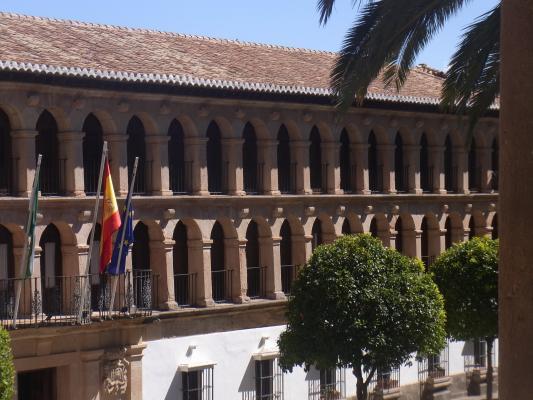 Andalusien, Rathaus, Ronda, Spanien