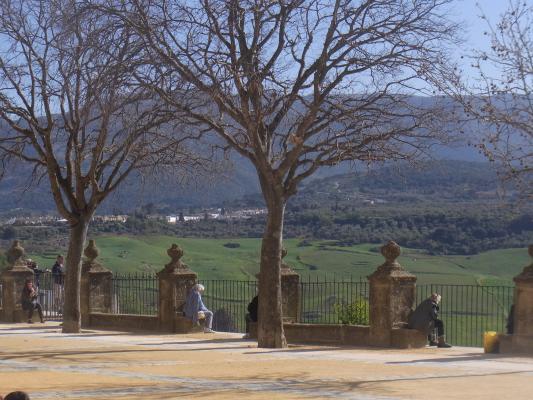 Andalusien, Park, Ronda, Spanien