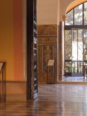 Andalusien, Schloss, Sevilla, Spanien