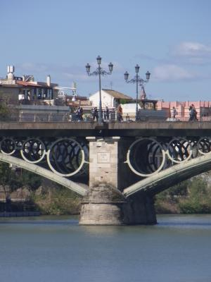 Andalusien, Brücke, Sevilla, Spanien