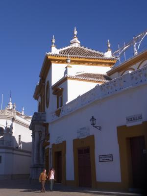 Andalusien, Sevilla, Spanien, Stierkampfarena