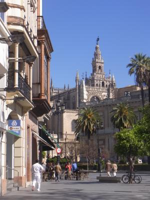 Andalusien, Kathedrale, Sevilla, Spanien