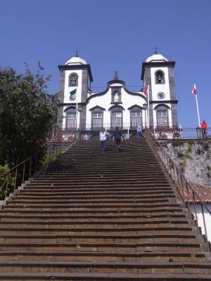 Madeira, Funchal, Portugal, Monte, Kirche