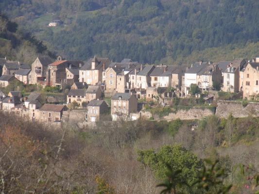 Frankreich, Midi-Pyrénées, Najac