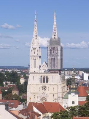 Kathedrale, Kroatien, Zagreb