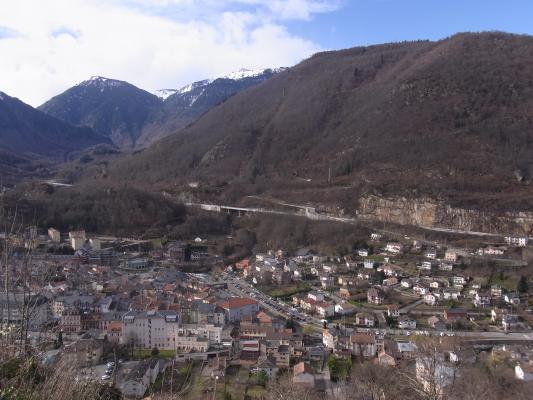 Ax-les-Thermes, Frankreich, Pyrenäen