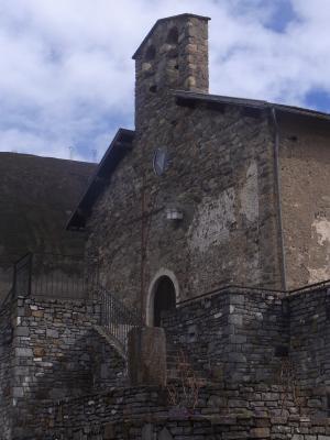 Ax-les-Thermes, Frankreich, Kirche, Pyrenäen