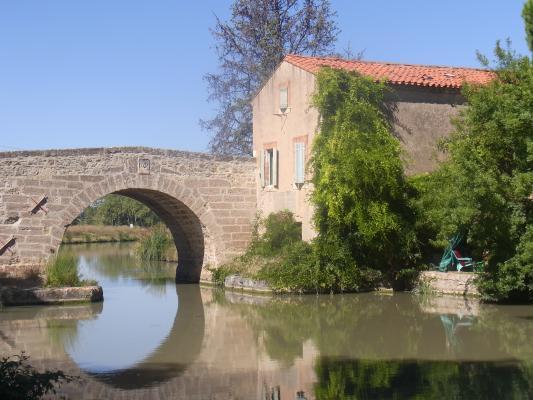 Canal du Midi, Frankreich, Languedoc-Roussillon