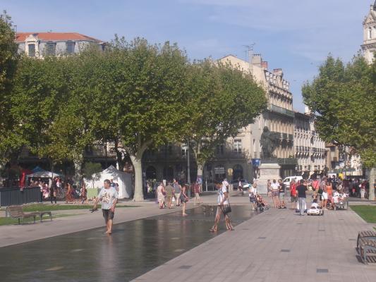 Beziers, Frankreich, Languedoc-Roussillon