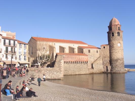 Collioure, Frankreich, Kirche, Okzitanien