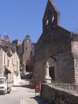 Bruniquel, Frankreich, Kirche, Okzitanien, Tarn