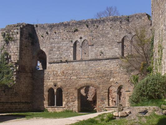 Bruniquel, Burg, Frankreich, Okzitanien, Tarn