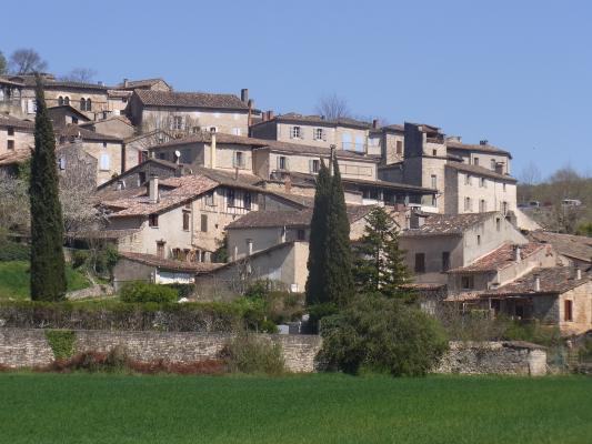 Bruniquel, Frankreich, Okzitanien, Tarn
