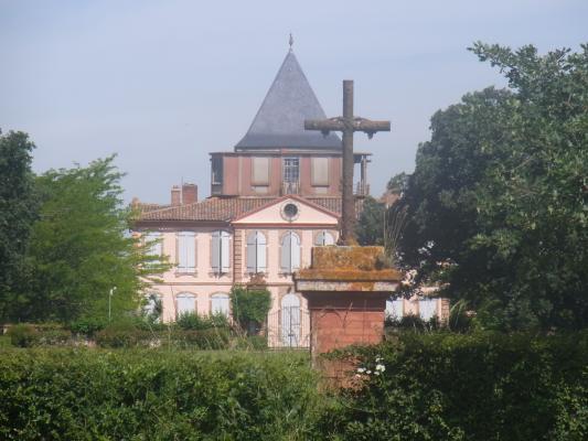 Frankreich, Okzitanien, Schloss