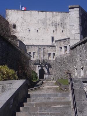 Burg, Frankreich, Lourdes, Pyrenäen