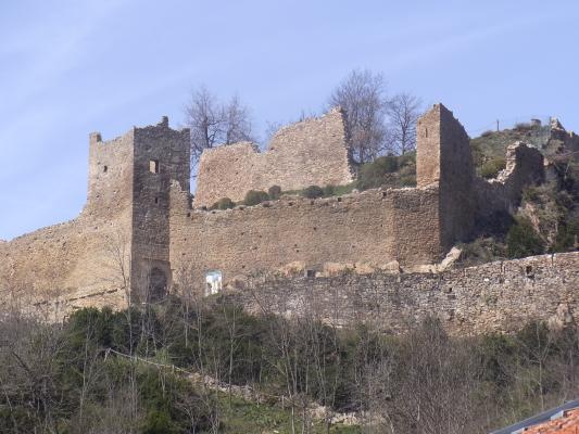 Burg, Frankreich, Pyrenäen