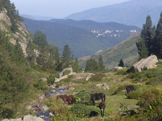 Frankreich, Midi-Pyrénées, Okzitanien, Pyrenäen