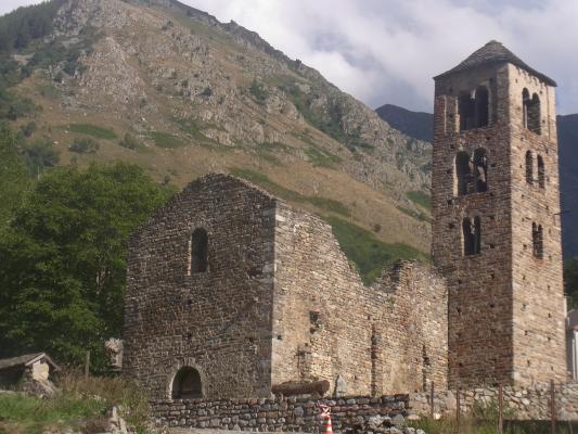 Frankreich, Kirche, Midi-Pyrénées, Okzitanien, Pyrenäen
