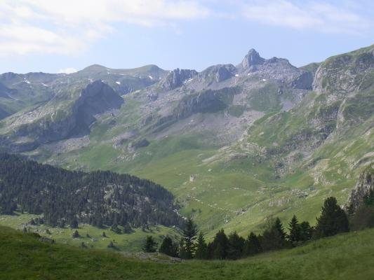 Frankreich, Pyrenäen, Vallée d