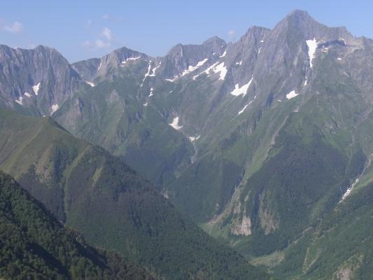 Frankreich, Pyrenäen, Seix