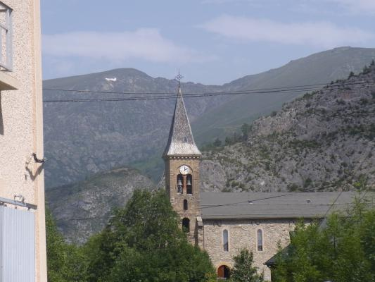 Frankreich, Kirche, Pyrenäen, Vicdessos