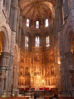 Avila, Kathedrale, Spanien