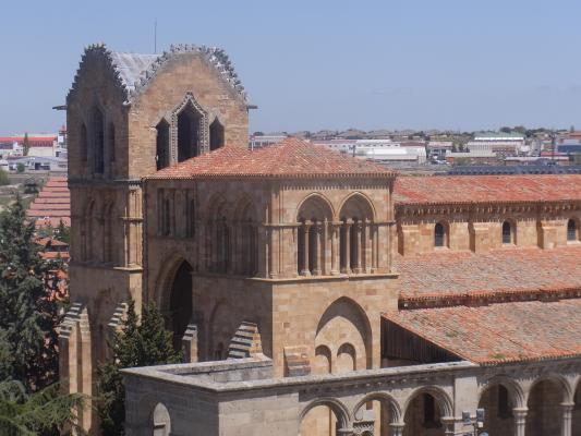 Avila, Basilique, Spanien