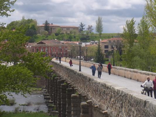 Brücke, Salamanca, Spanien