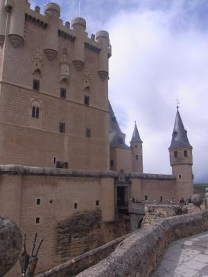 Spanien, Segovia, Schloss